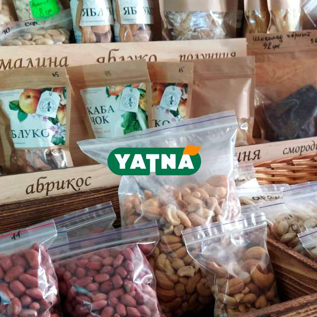 Натуральные орехи - в магазине YATNA Украина. Миндалный орех, грецкий, кешью, макадмия, фундук,