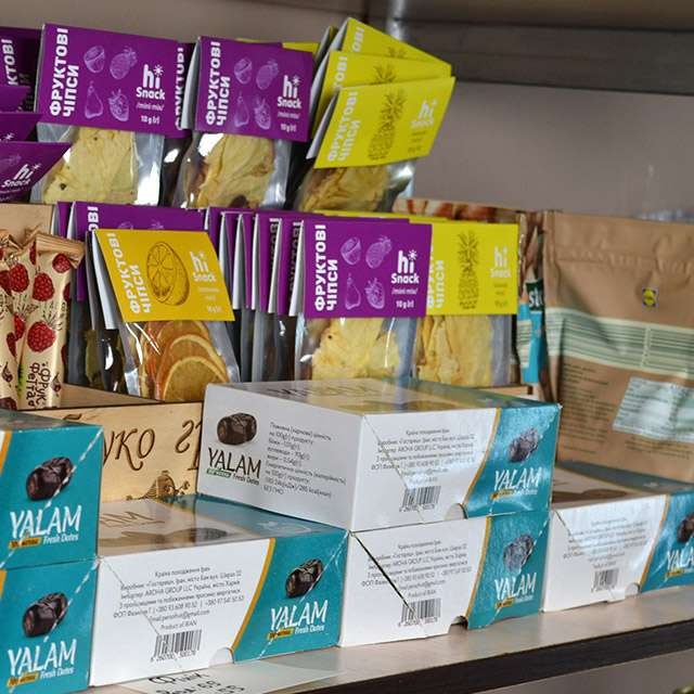 Эко продукты магазин Украина. Доставка натуральных продуктов, магазин YATNA Украина