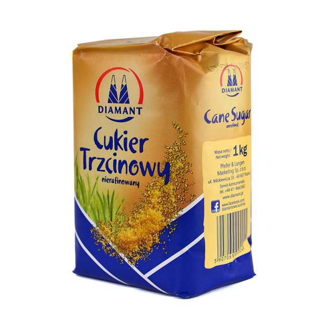 Купить тростниковый сахар  Diamant Cukier Trzcinjwy. Магазин натуральные продукты ЯТНА.