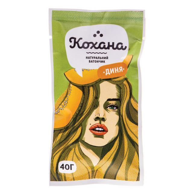 Натуральный батончик диня ТМ «Кохана» купить.Украина