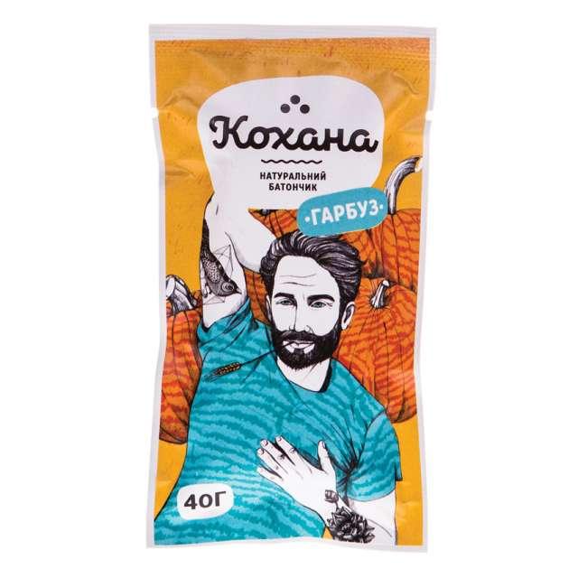 Натуральный батончик Тыква ТМ «Кохана» купить.Украина