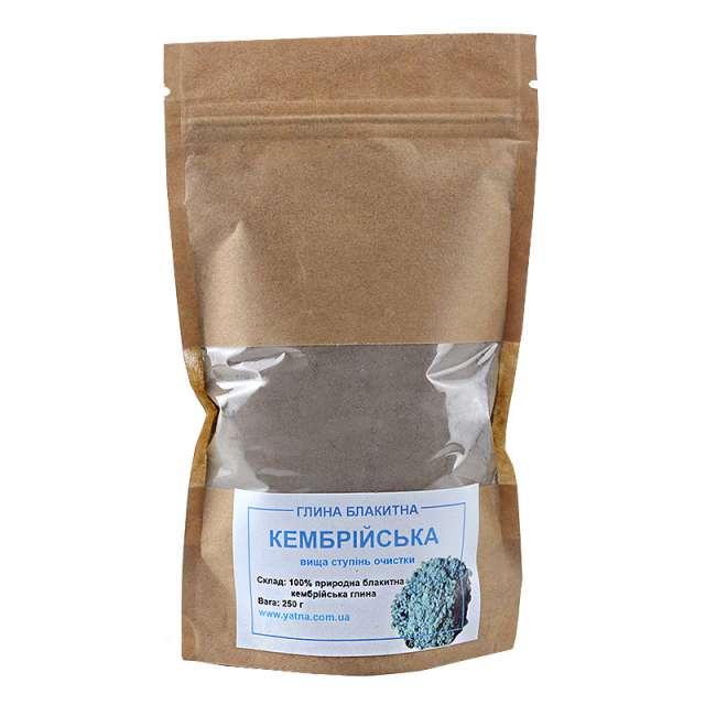 Купить Глина Кембрийская (голубая) очищенная. Магазин натуральные продукты ЯТНА.