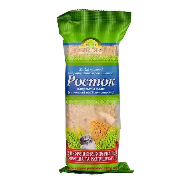 Купить Хлебцы Росток с морской солью. Магазин натуральные продукты ЯТНА.