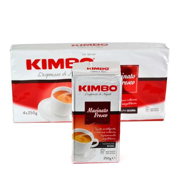 Купить кофе Kimbo Macinato Fresco молотый 250 г.  Магазин натуральные продукты ЯТНА