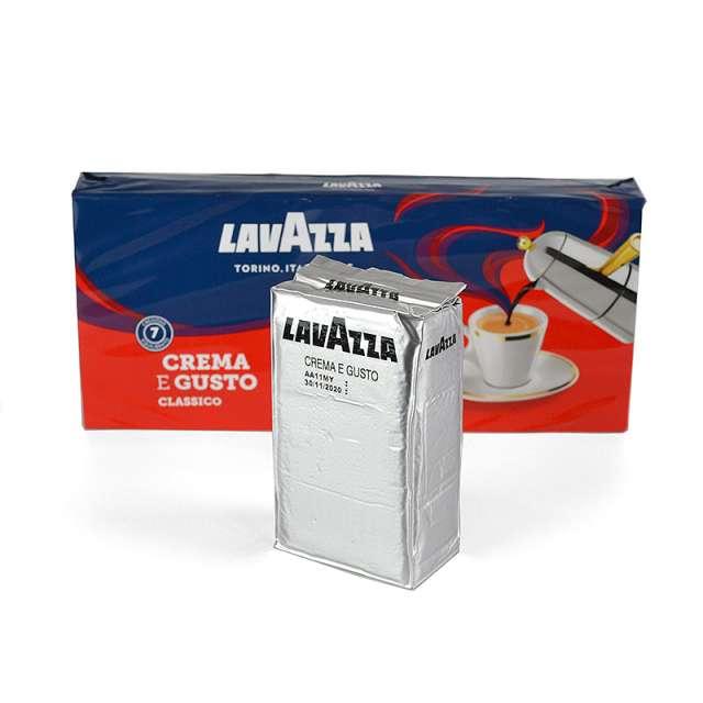 Купить кофе Lavazza Crema e gusto Classico молотый 250 г. Магазин натуральные продукты ЯТНА