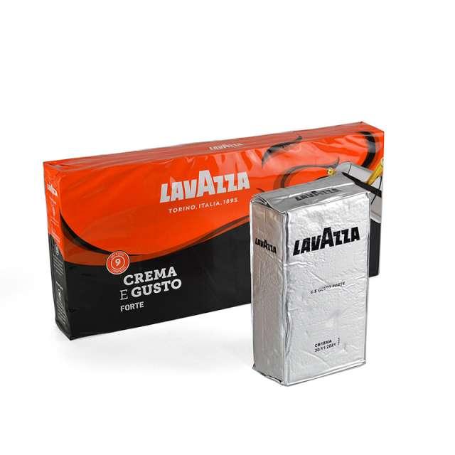 Купить кофе Lavazza Crema e Gusto Forte молотый 250 г. Магазин натуральные продукты ЯТНА