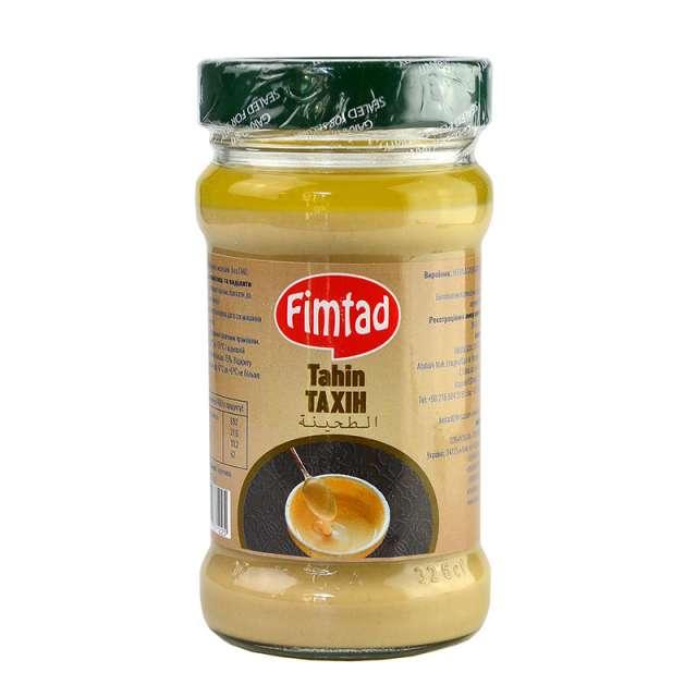 Купить Кунжутная паста Fimtad Тахини. Магазин натуральные продукты ЯТНА.
