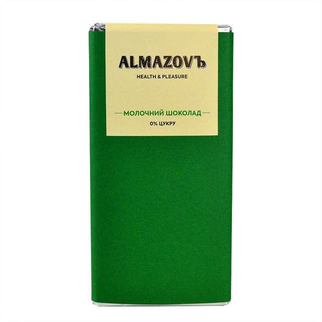 Купить Молочный шоколад Almazovъ. Магазин натуральные продукты ЯТНА.
