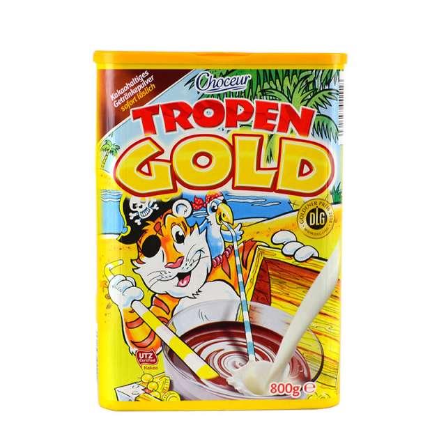 Купить Какао Choceur Tropen Gold  800г. Магазин натуральные продукты ЯТНА