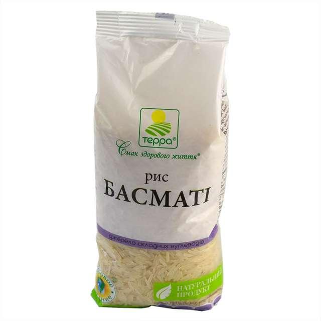 Купить Рис Басмати Терра. Магазин натуральные продукты ЯТНА.