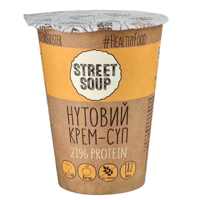 Купить Нутовый крем-суп Street Soup. Магазин натуральные продукты ЯТНА.