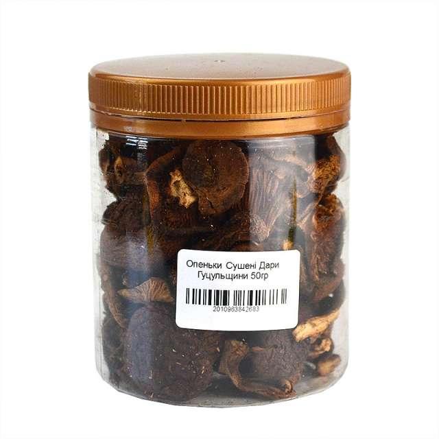 Купить Грибы опята сушеные Дари Гуцульщини. Магазин натуральные продукты ЯТНА.