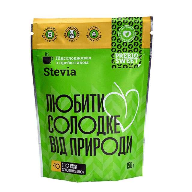 Купить Сахарозаменитель Prebio Sweet Stevia. Магазин натуральные продукты ЯТНА.