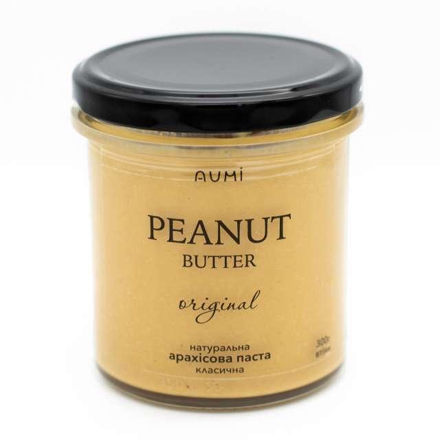 Купить Арахисовая паста Peanut butter Aumi. Магазин натуральные продукты ЯТНА.