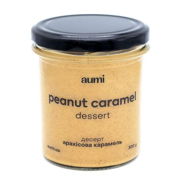 Купить Арахисовый крем Peanut caramel Aumi. Магазин натуральные продукты ЯТНА.