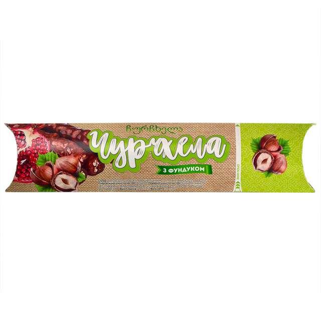 Купить грузинская чурчхела фундук в гранатовом соке. Магазин натуральные продукты ЯТНА.