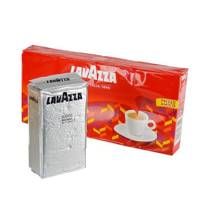 Купить кофе Lavazza Suerte молотый 250 г. Магазин натуральные продукты ЯТНА
