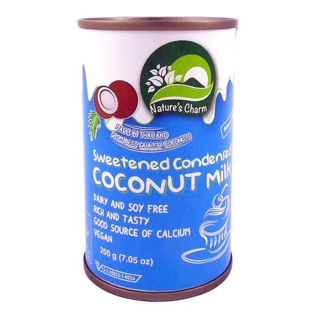 Кокосовое сгущенное молоко Nature's Charm. Магазин натуральные продукты ЯТНА