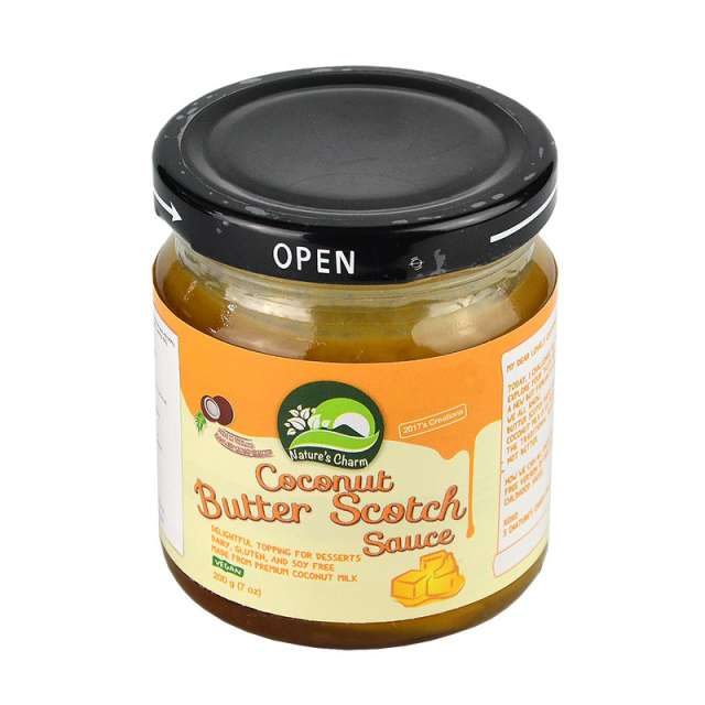 Купить Кокосовый соус Ирисковый Natures Charm. Магазин натуральные продукты ЯТНА.