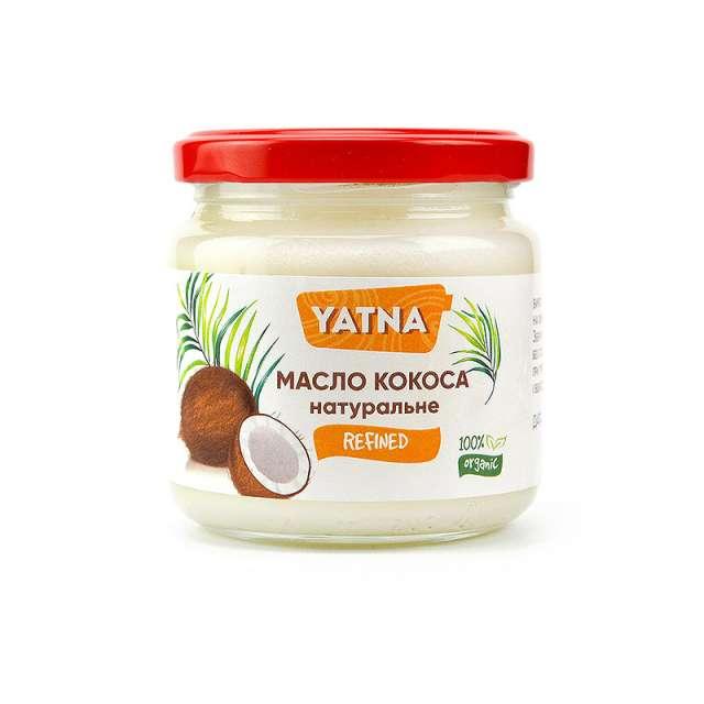 Купить Кокосовое масло рафинированное YATNA. Магазин натуральные продукты ЯТНА.