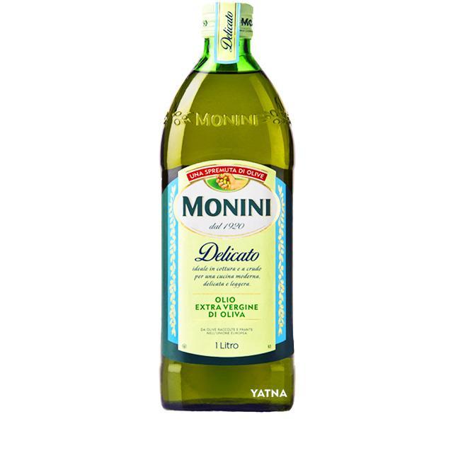 Оливковое масло Monini Delicato Украина. Купить масло для горячих и холодных блюд