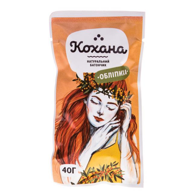 Натуральный батончик Облепиха ТМ «Кохана» купить.Украина