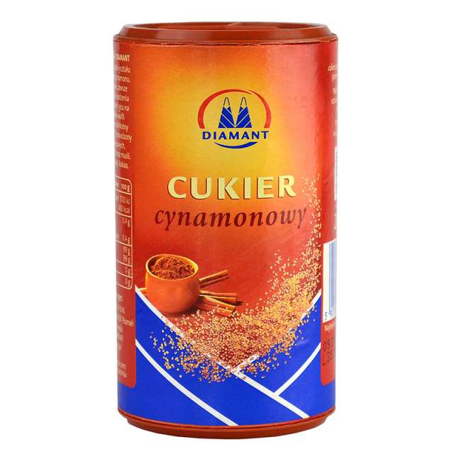 Купить сахар с корицей Diamant Cynamonowy Cukier. Магазин натуральные продукты ЯТНА.