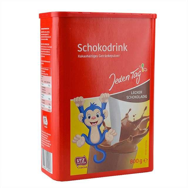 Купить Шоколадный какао напиток Schokodrink Jeden Tag. Магазин натуральные продукты ЯТНА